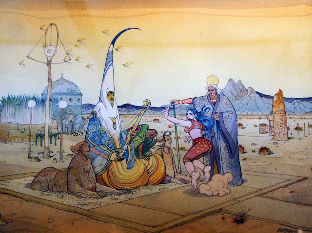 MOEBIUS / GIR (JEAN GIRAUD) Desert10