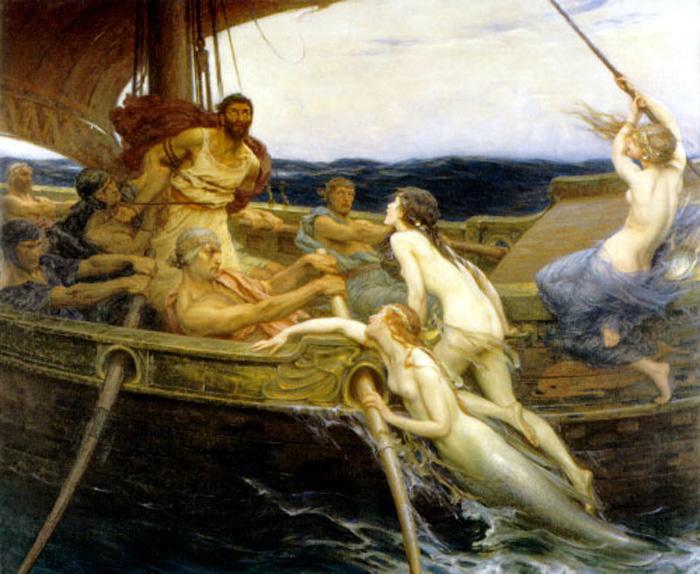 MYTHOLOGIE GRECQUE : L'ODYSSÉE d'HOMÈRE Draper10