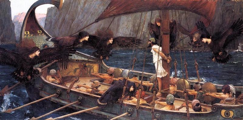 MYTHOLOGIE GRECQUE : L'ODYSSÉE d'HOMÈRE John_w10