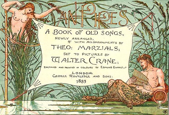 WALTER CRANE (1845-1915) Marzia10