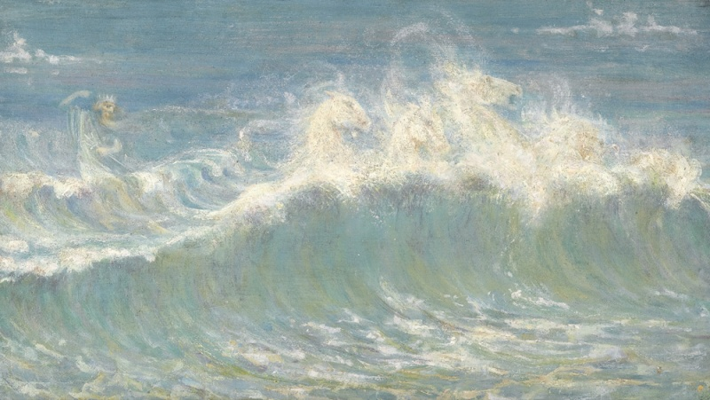 WALTER CRANE (1845-1915) Neptun11