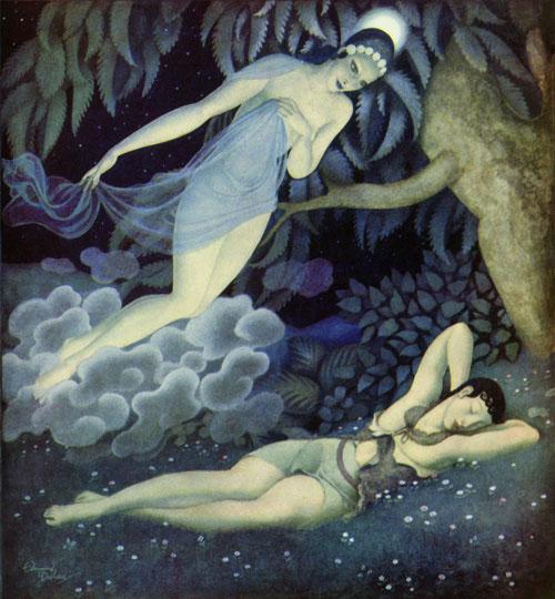 EDMUND DULAC (1882-1953) Selene10