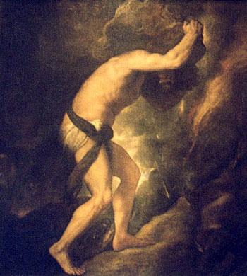 MYTHOLOGIE GRECQUE : L'ODYSSÉE d'HOMÈRE Sisyph12