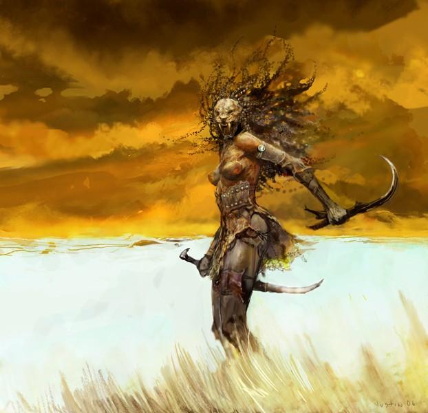 JUSTIN SWEET (& Jason Manley pour IWD II) Slayer10