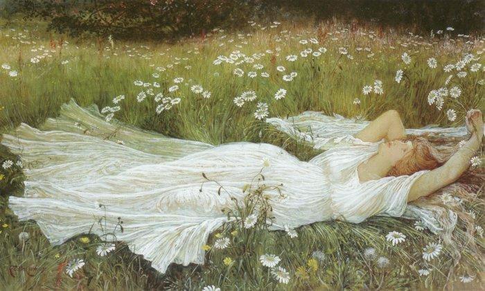 WALTER CRANE (1845-1915) Spring10