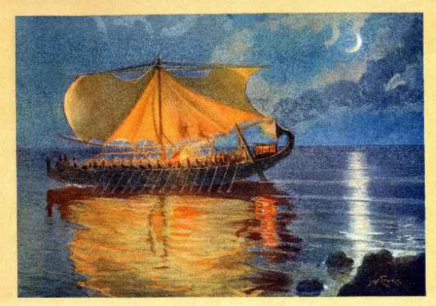 MYTHOLOGIE GRECQUE : L'ODYSSÉE d'HOMÈRE Styka010