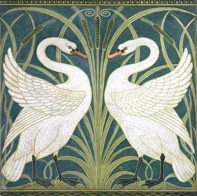 WALTER CRANE (1845-1915) Swan_a10