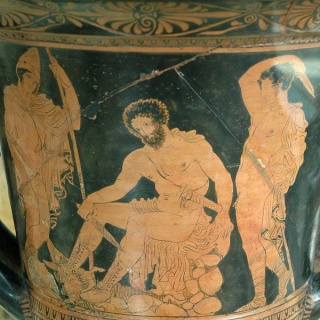 MYTHOLOGIE GRECQUE : L'ODYSSÉE d'HOMÈRE Tiresi10