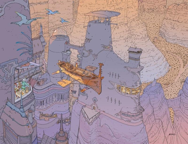 MOEBIUS / GIR (JEAN GIRAUD) Voyage12