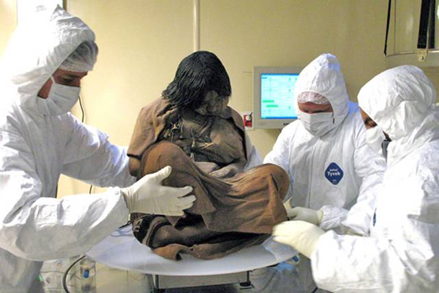 Inca Girl — Frozen For 500 Years  A_112