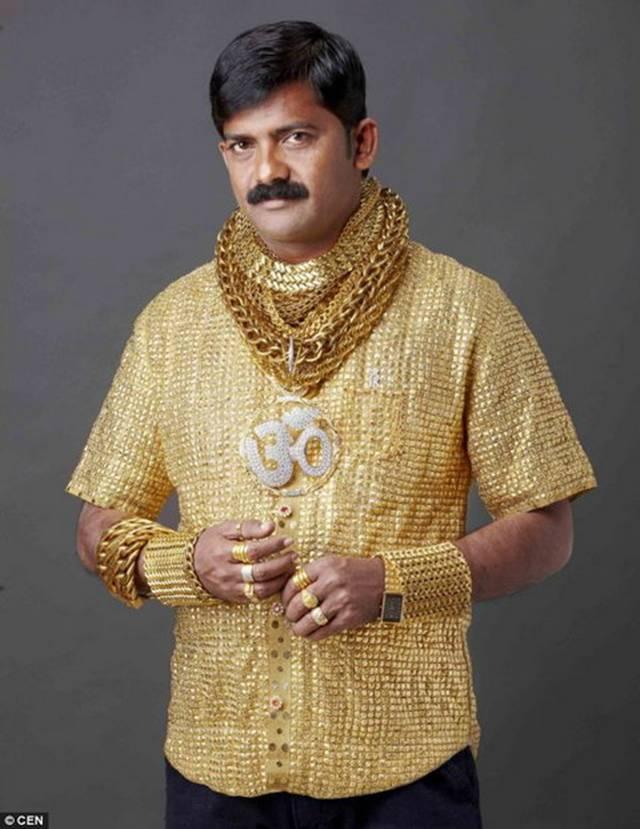 Golden Shirt  A_113