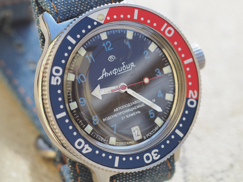 ward - Comparatif Akrone K-02 Vostok Amphibia Ward Trident P7100011