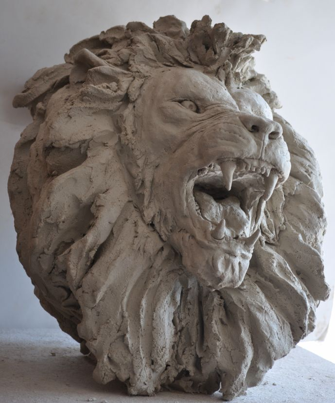 Têtes de lions L1a10