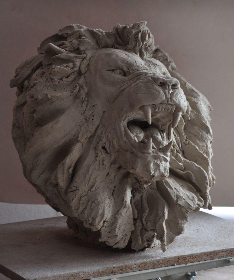 Têtes de lions L210