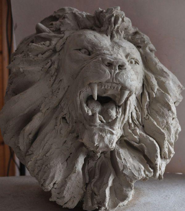Têtes de lions L310