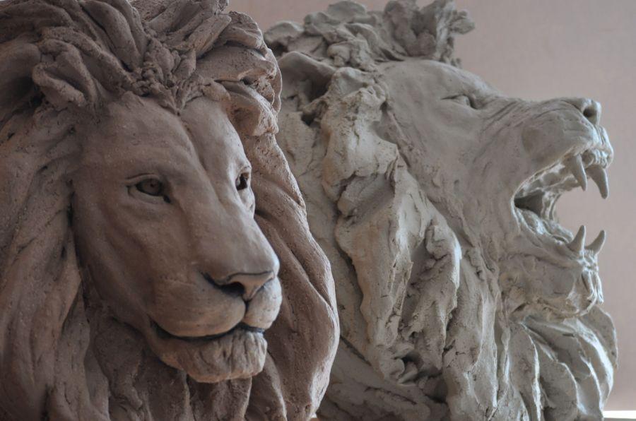Têtes de lions L510