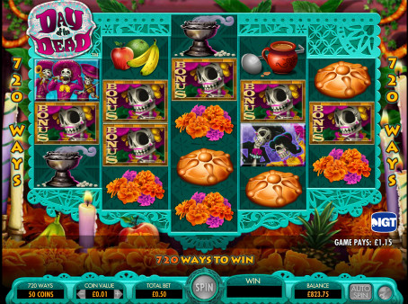 Player Won €479,715 Playing Video Slot Day Of The Dead At Vera & John Casino! Canjyx10