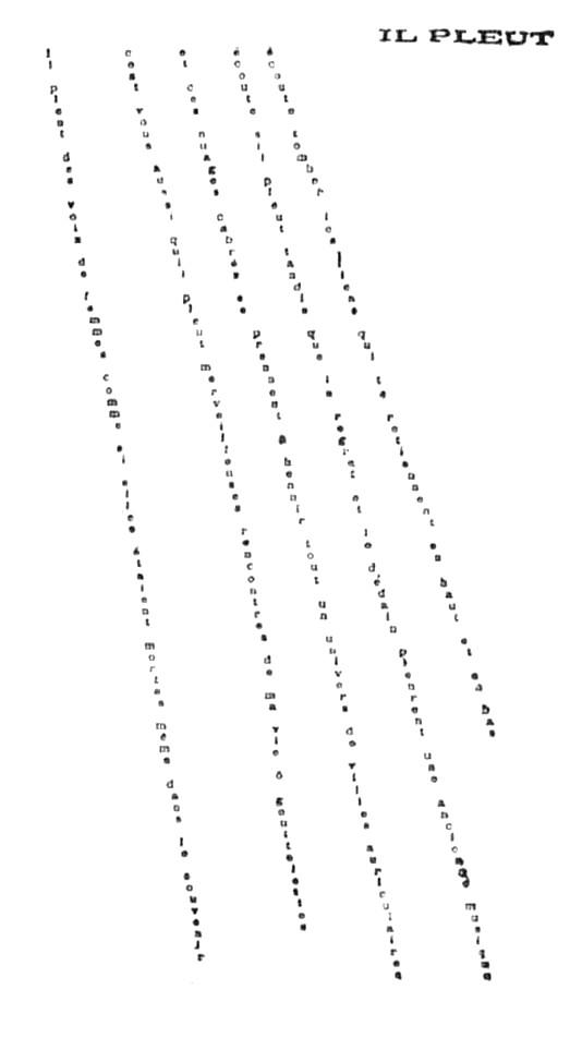 Poésie, typographie et graphisme (poésie graphique) Ilpleu10