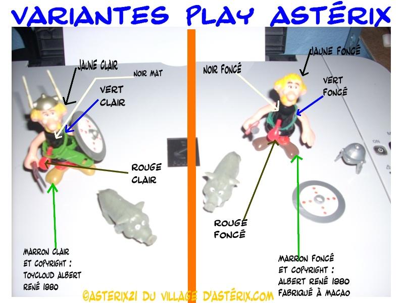 Astérix® les Variantes d'Hier et d'Aujourd'hui [Le Catalogue] Varain10