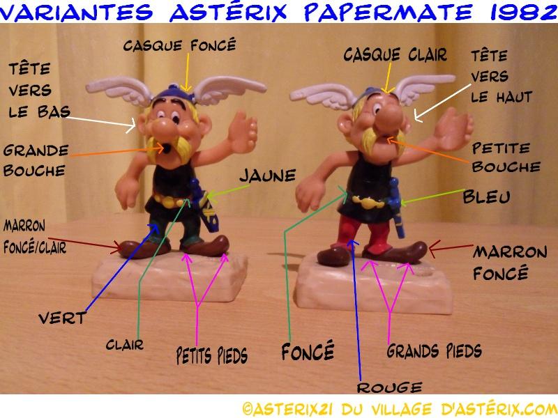 Astérix® les Variantes d'Hier et d'Aujourd'hui [Le Catalogue] Varian10