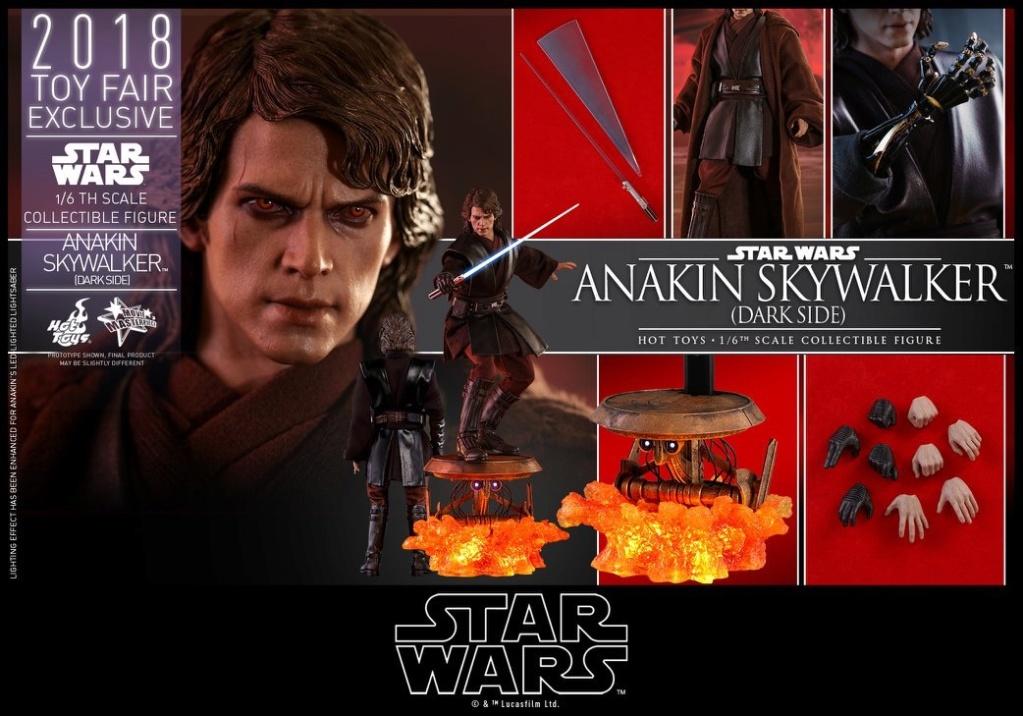 MMS 486 : Star Wars  ANAKIN DARK SIDE EXCLU TOY'S FAIR 2018 15296510