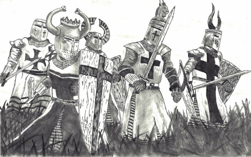 [Moyen Age] Chevaliers Médiévaux God_sa10