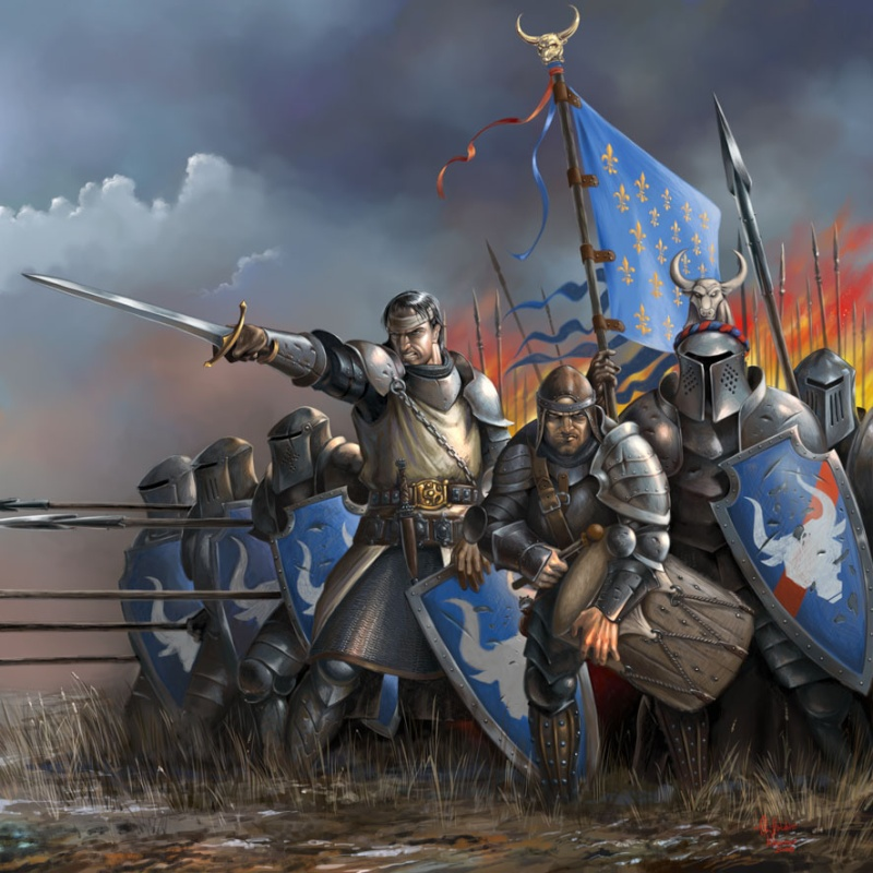 [Moyen Age] Chevaliers Médiévaux Heavy_10