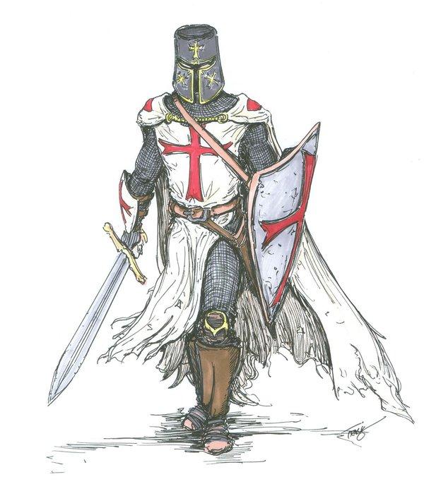 [Moyen Age] Chevaliers Médiévaux Templa10