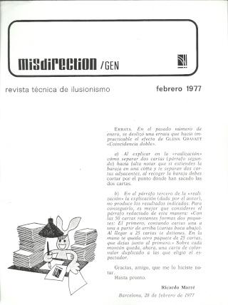 Misdirection (1977-02 Febrero) Escane10