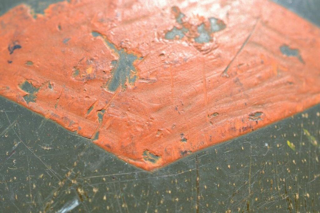 Liner US précoce : grade capitaine + losange orange S-l16130