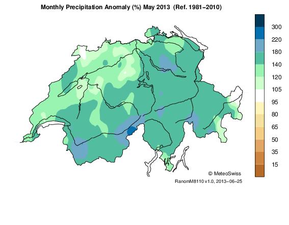 Bilans climatologiques mensuels et trimestriels pour la France Pre_a_10