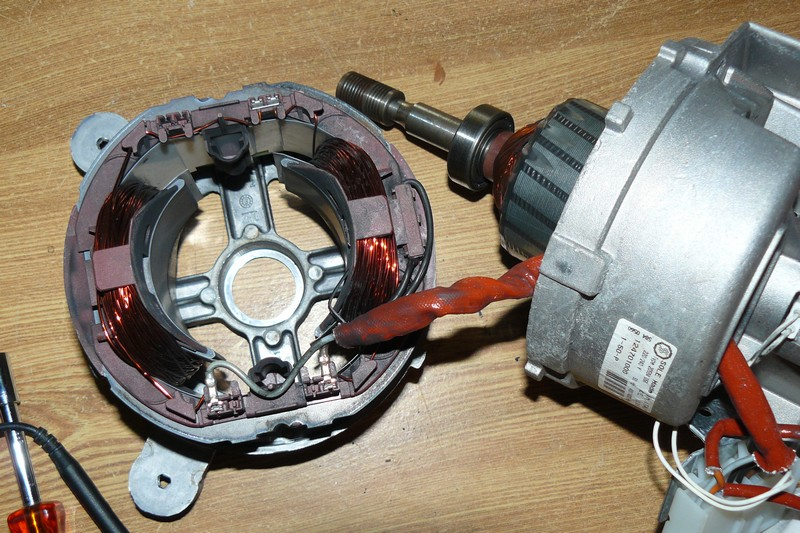 Gestion éléctronique d'un moteur universel Moteur10