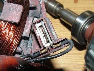 Gestion éléctronique d'un moteur universel Protec12