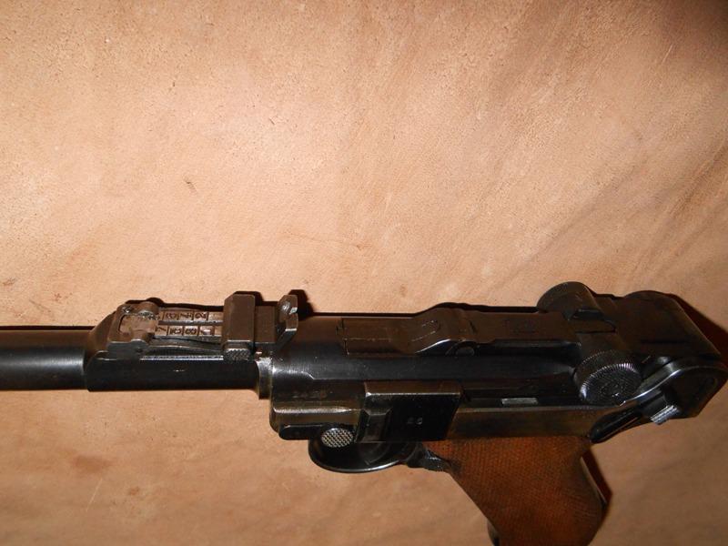 P08  Mauser artillerie de 1945 20710