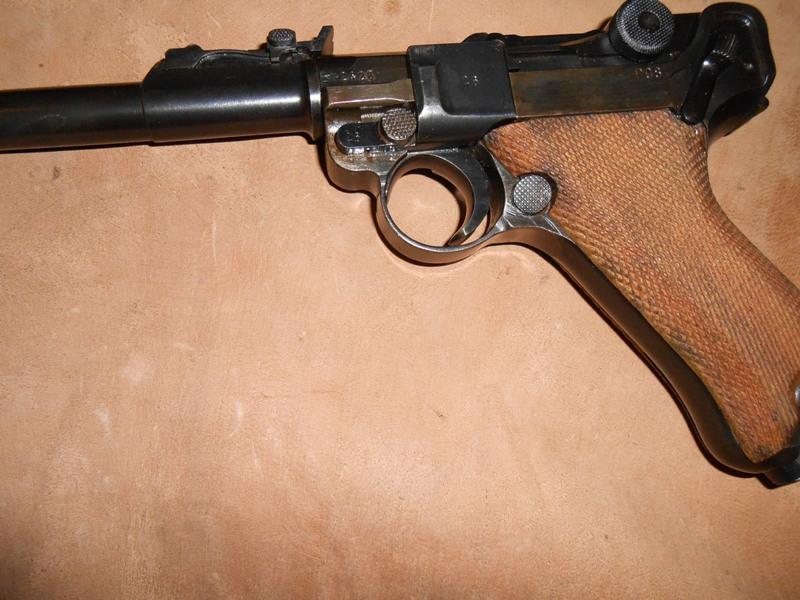 P08  Mauser artillerie de 1945 21910