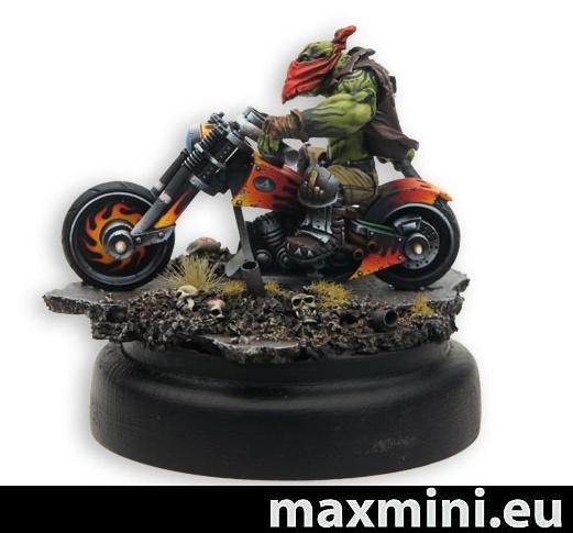Proto moto Maxmini et wip Bloodwulf Titan-forge Moto210