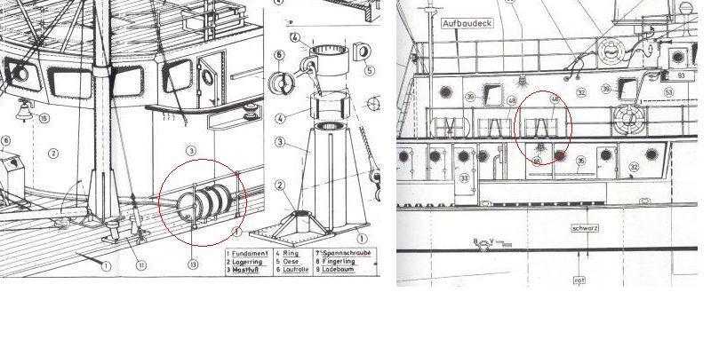 la Calypso di cousteau autocostruita su piani museo della marina parigi - Pagina 14 Bidoni10