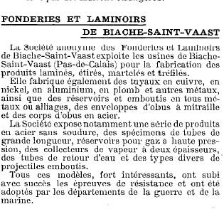 Fournisseurs métal sabre 1896  E et JH une énigme résolue par les munitions ? Biache11