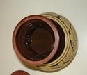 Slipware lidded & footed pot - Chinese pickling jar Dscn1410