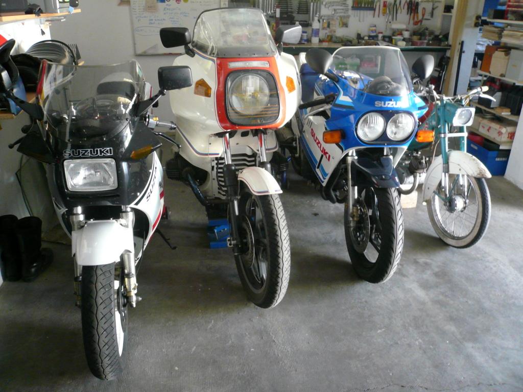 La vie du garage. P1050911