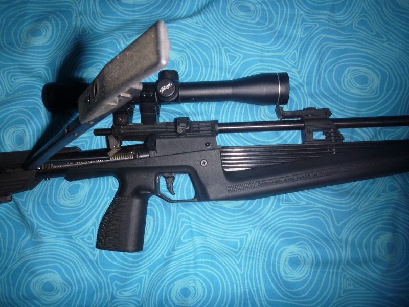 Carabine à air BAIKAL IJ61 Levier10