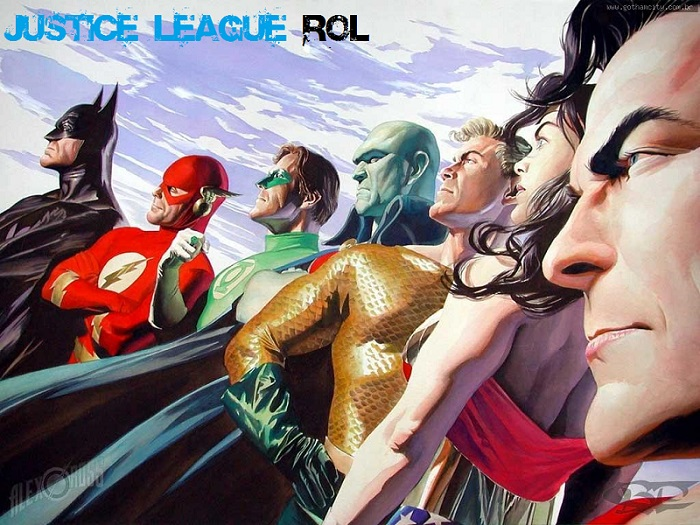 Justice League Rol - DC Comics Aquí!