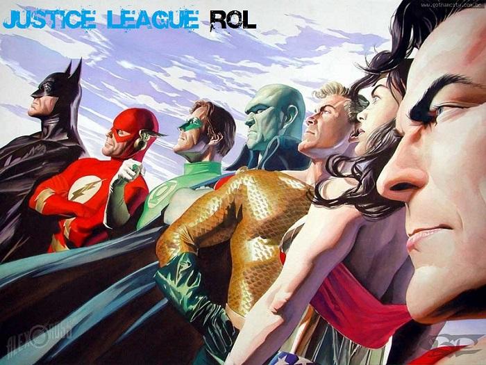 Justice League Rol - DC Comics Aquí!