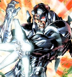 Personajes de Justice League Cyborg10