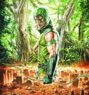 Personajes de Justice League Green_10