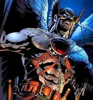 Personajes de Justice League Hawkma10
