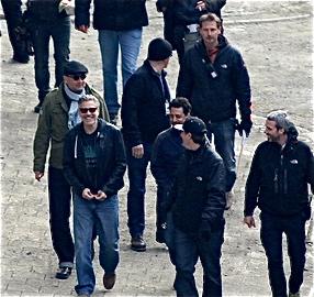 Photos: George Clooney filming in Goslar, Germany 16739710