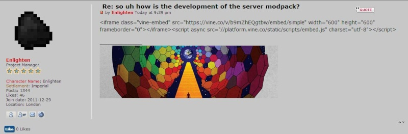 so uh how is the development of the server modpack? - Page 3 Wooy10