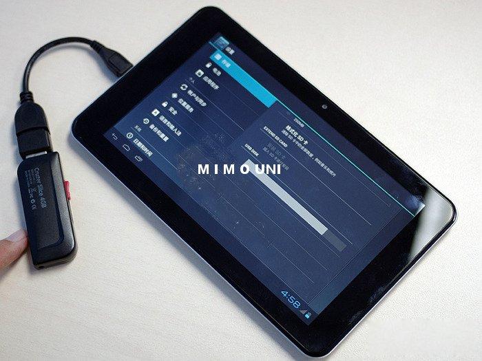Modem Iam sur tablette Android configuration Novohe10