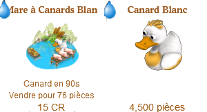 Canard Blanc / Étang du Canard Magique => Viande de Canard Sans_670
